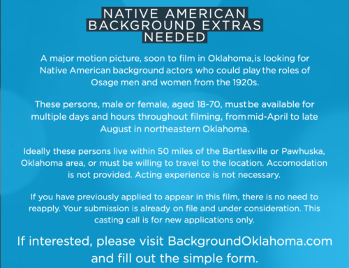 Native American Background Extras Needed for a Major Motion Picture